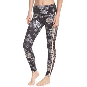 Free People Movement Floral Hi Rise Legging Tights